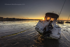 At the Harbour (Eimhear Collins) Tags: sunset boats seascapes countydublin skerries