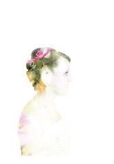 Evy & Scott (vie!) Tags: flowers wedding portrait love kiss exposure doubleexposure marriage double flowergirl portret bloemen trouw huwelijk kus weddingphotographer weddingphotography deinze marriagephotography huwelijksfotografie huwelijksfotograaf doubleexposureportrait silviebonne csilviebonne evyscott