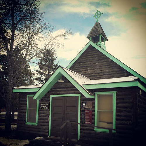 The Old Log Church is one of oldest buildings in #yxy It was built in 1900 and served as a centre of worship and social gathering place. In 1962 the building was made into a museum, operated by the #Yukon Church Society.