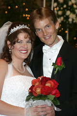 Eric and Ursula - Wedding Day (FagerstromFotos) Tags: family flowers wedding woman man groom bride bouquet