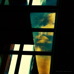 A Clouded Mind (eterem) Tags: windows light sky abstract black reflection window nature glass up lines architecture clouds canon reflections dark square outside photography eos photo october artistic quote bricks angles reflected thoughts squareformat mind transparency inside abstraction walls transparent monday confusion squared uncertain clouded uncertainty intellect unclear architecturaldetails bsquare mullions cloudedmind eos1100d cloudedhead acloudedmind 13102014