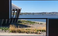 Commonwealth Avenue (dlerps) Tags: bridge windows lake window water architecture sony sigma australia canberra avenue act commonwealthavenue australiancapitalterritory lakeburleygriffin nationalmuseumofaustralia lerps sonyalphadslr australiancaptialterritory sonyalphaa77v daniellerps