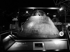 """Apollo 8 Command Module behind glass • <a style=""""font-size:0.8em;"""" href=""""http://www.flickr.com/photos/34843984@N07/15546794775/"""" target=""""_blank"""">View on Flickr</a>"""