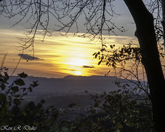 Sunset over the Weser valley by Rinteln, Schaumburg, Lower Saxony, Germany (Kenray44) Tags: sunset germany landscape deutschland nikon sonnenuntergang schaumburg landschaft niedersachsen lowersaxony rinteln 25faves kenduke nikond300s kenray44 kennethraymondduke