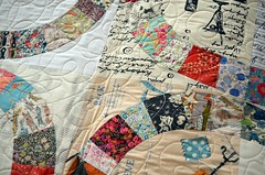 Look who's back from the long-armer... (_name_taken_) Tags: libertyoflondon denyseschmidt tanalawn singlegirlquilt