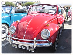 VW Beetle Convertible (v8dub) Tags: auto old classic car vw bug volkswagen automobile beetle convertible automotive voiture german cox oldtimer oldcar cabrio collector kfer coccinelle cabriolet kever fusca aircooled wagen pkw klassik maggiolino bubbla worldcars