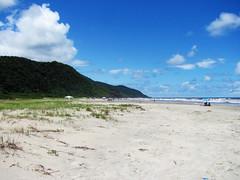 Barra do Una (Angela Cavina) Tags: sunset brazil sol praia beach nature brasil do picture sp fotos una paulo barra so por
