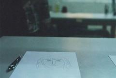 completa o desenho,  completa (vivitarexperiencias) Tags: film paper papel vivitar desenho analgico completar