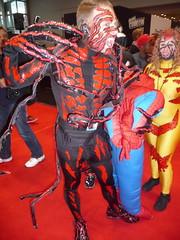 P1120639 (Randsom) Tags: nyc newyorkcity newyork costume cosplay spiderman convention superhero comicbooks carnage rogue marvel villain marvelcomics venom javits rogues 2014 supervillain nycc newyorkcomiccon october2014 nycc2014 newyorkcomiccon2014