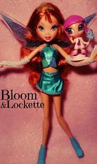 Pixie Magic Doll Bloom - Mattel (Bloom) Tags: stella doll magic pixie bloom tune layla musa amore mattel piff lockette winxclub