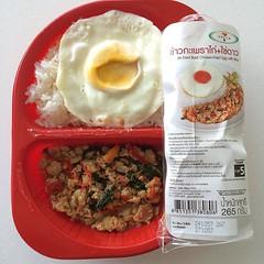 ข้าวกะเพราไก่+ไข่ดาว