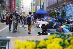 DSC06288 (rickytanghkg) Tags: hongkong f56 90mm leitz socialissue umbrellarevolution occupycentral sonya7r