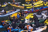 McCovey Cove traffic jam (AndCY) Tags: canoes kayaks mccoveycove traffic worldseries game3 sanfrancisco giantsfans