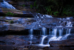 30 Seconds at the Katoomba Cascades (dlerps) Tags: longexposure fern nature water creek forest waterfall bush stream sony sigma australia bluemountains cascades newsouthwales eucalyptus katoomba leura jamisonvalley greatdividingrange lerps katoombacascades sonyalphadslr sigma1850mmf28exdcmacro diamondclassphotographer flickrdiamond sonyalphaa77v daniellerps coxsrivercanyonsystem hoyaprond500