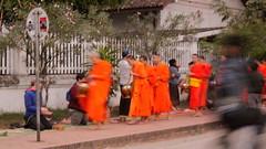 Eine Fahrt von Luang Prabang nach Vientiane.