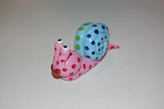 Snail (Steve W Lee) Tags: toys snail figurines clay sculpey sculpeyclay
