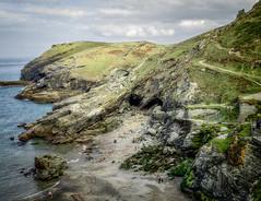 Tintagel 262 (Susan Liepa) Tags: ocean uk sea england mountains cornwall atlantic celtic tintagel kingarthur