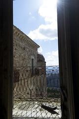 Finestra su Craco (giuseppecampione) Tags: parco sun window nikon case basilicata finestra sole matera fantasma paesaggio citt balcone craco abbandonata nikond3100