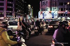 Taipei_20141022 at 18-25-22_Edit.jpg (Kim Jaehoon) Tags: road city people rain architecture night outdoors photography asia helmet citylife taiwan taipei crowded motorscooter taipeicity colorimage buildingexterior largegroupofpeople photographersontumblr originalphotographers
