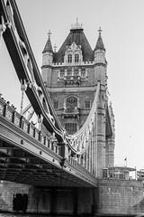 Tower Bridge (NSJW photos) Tags: bridge bw london towerbridge mono nikon riverthames d3200 nsjwphotos