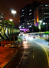 Sampa (Brazão) Tags: street city cidade brasil night sãopaulo centro sampa sp noite anhangabaú metrópole terminalbandeira