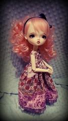 Leeke in Pink (Honorata ʕ •ᴥ•ʔ) Tags: bjd dollymeet leekeworld reisin leekeashley