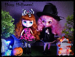 Tag Game: Happy Halloween out of the series Blythe Halloween Night 9of9