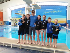 Synchro Medalists with Matt