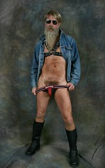 Is my Bush 1970's (Cowboy Tommy) Tags: jockstrap hairy hot sexy male jock muscles leather sex naked nude fur beard goatee bush model furry nipples legs boots crotch bondage shades porno dirty jacket porn blonde denim stache 1970s harness levis pubes pubichair bulge retrostyle nastypig thenastypig