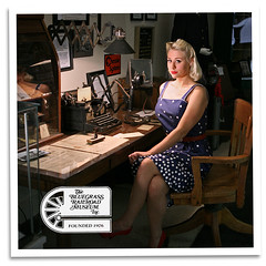 Operator's Desk (bogray) Tags: model ky versailles calendargirl bluegrassrailroadmuseum kaylaleannegoss