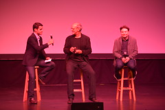 Mike Myers & Shep Gordon Q&A (Napa Valley Film Festival) Tags: red food film mike festival carpet theater wine uptown gordon valley napa shep myers nvff supermensch nvff14