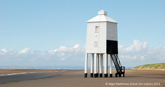 Burnham on Sea, The Low Lighthouse (Gook the Goblin) Tags: city uk greatbritain travel england architecture nikon europe cityscape somerset gb lonelyplanet burnhamonsea bristolchannel ligthouse citybreak d80 nikond80 lovelycity lowlighthouse travelplanet nigelmatthews gookthegoblin