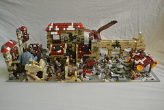 Lego MOC: Ruins of Dale (-Balbo-) Tags: