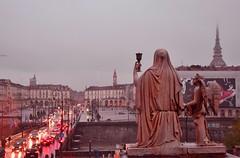 piazza-vittorio (braveknight74) Tags: torino fiume piemonte po gran piazza mole nebbia turin pioggia piedmont madre vittorio antonelliana italiapioggia