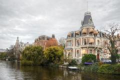Weteringschans, Amsterdam (Rene Mensen) Tags: houses amsterdam canal nikon 4 rene luxe weteringschans mensen singelgracht d5100