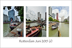 Rotterdam juni 2015 ii (shedman59) Tags: haven water boot boat ship harbour quay mooring bollard dukdalf meerpaal hoogbouw hertekade rotterdamcentrum terwenakker gebiedterwenakkerhertekadeboompjes