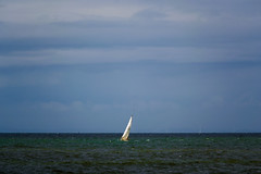 Small sailing boat on the Irish Sea Whitehaven Cumbria - Aug.2016 (I.T.P.) Tags: sailing boat irish sea whitehaven cumbria