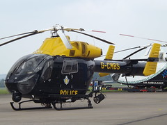 G-CMBS Explorer MD90 Helicopter National Police Air Service (Aircaft @ Gloucestershire Airport By James) Tags: gloucestershire airport gcmbs explorer md900 helicopter national police air service egbj james lloyds