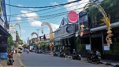 Seminyak sights (SqueakyMarmot) Tags: travel asia indonesia bali 2016 seminyak perjors bamboo decorations