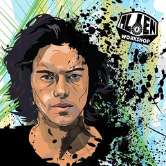 Here is an #illustration I did in 2009. It's a #portrait of #dylanrieder was one of my favorite #skaters you will be missed rip. (knexthedotz) Tags: illustration portrait dylanrieder skaters
