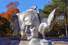 Sibelius Monument, Helsinki (JohntheFinn) Tags: sibeliusmonument monumentti muistomerkki helsinki autumn fall syksy finland suomi statue patsas veistos europe eurooppa