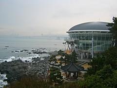 Nurimaru APEC House Busan, South Korea (Dickronz Nainggolan) Tags: apec nurimaru busan sea korea building ecopark