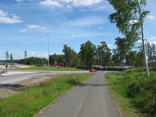 Norra Vägen (road 49), Karlsborg 2010(1)