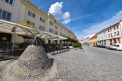 Mikulov (jmarnaud) Tags: czech 2016 south moravia mikulov family city walk street old building unesco wide angle