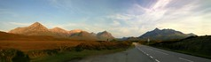 Sky lines of Skye! (Mike-Lee) Tags: cagivanavigator1000 jill mike scotland aug2016 roadtrip bike motorbike skye skylines daythree corran arnisdale sheenasteahut ratagan a87 hostel skyebridge httpwwwlochalshcoukskyebridgeshtml bridge bridges