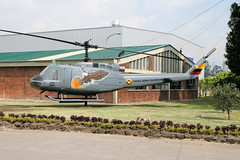 FAC2005 Madrid 17/03/14 (Andy Vass Aviation) Tags: madrid colombianairforce helicopter uh1 fac2005