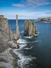 Newfoundland (Michael Zahra) Tags: canada newfoundland atlantic maritime ocean sea water waves rocks sky clouds 645 645z pentax ricoh mf mediumformat