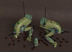 Jager mech (Sunder_59) Tags: lego moc render mecabricks blender3d mech mecha vehicle military dieselpunk scifi