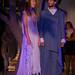 Models recreant amb el seu vestuari l'època blava de Picasso. Foto: Santi Pujolàs.