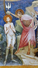 Salimbeni - Saint John baptizes Jesus Christ in the Jordan river, detail (petrus.agricola) Tags: lorenzo jacopo salimbeni scenes life saint john baptist urbino marche italy oratorio san giovanni battista